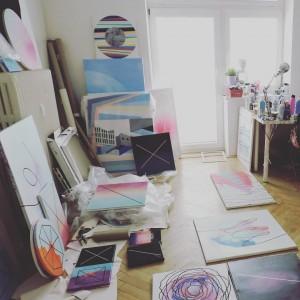 Magdalena Sevcik - studio