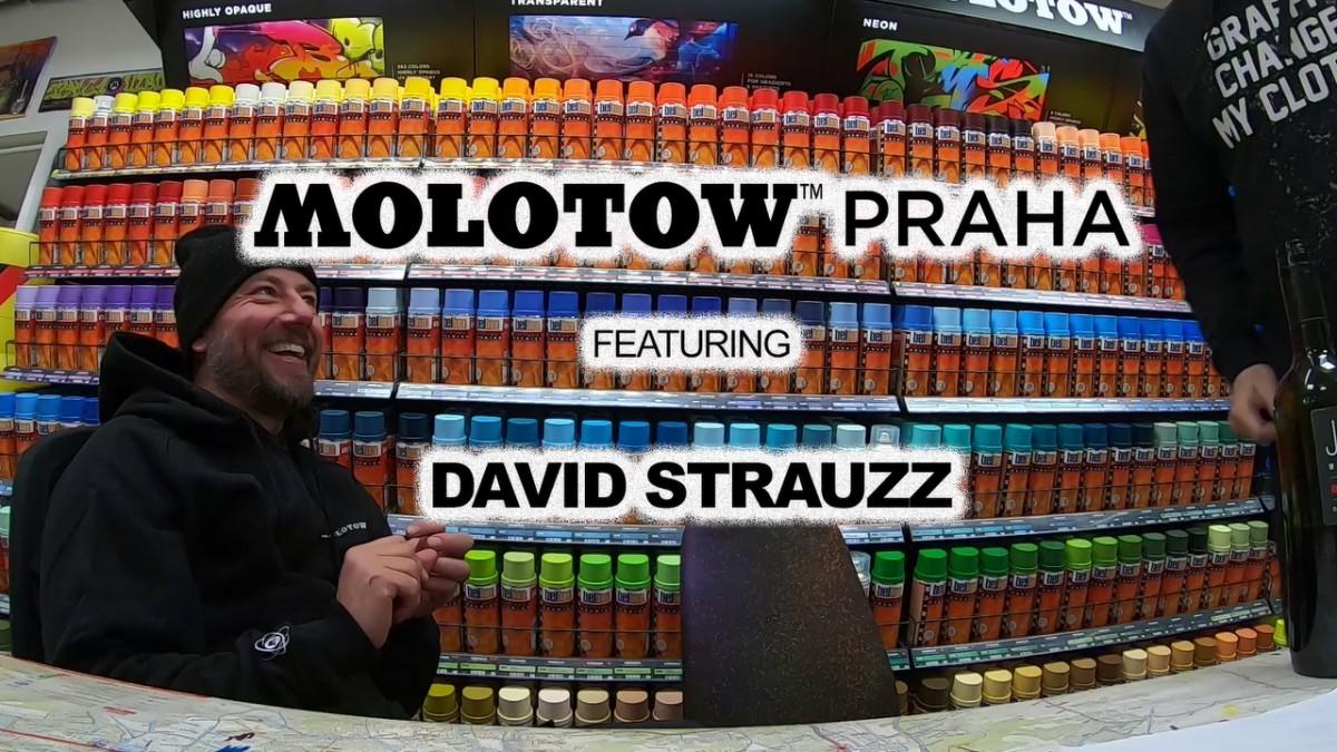 MOLOTOW™ PRAHA x DAVID STRAUZZ WT#01