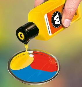 Technologie R.E.M. - mixování barev