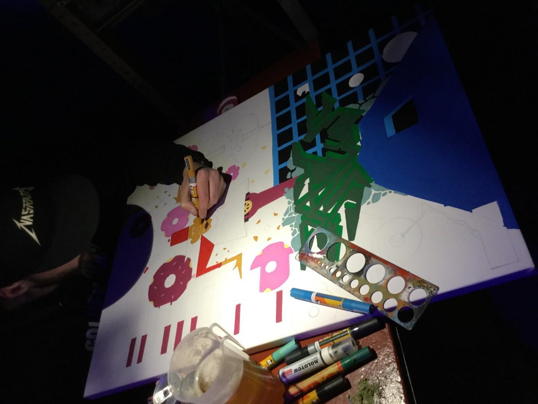 Live Jam Session 45 – Live Painitng