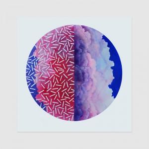 """Perfect Illusion"" (80x80cm) acrylics, canvas, 2016"