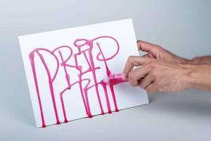 AQUA INK lze použít také do Dripstick aplikátoru