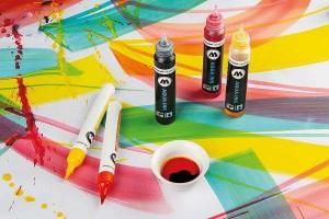 Míchání vlastních odstínů pomocí náhradních 30ml AQUA náplní