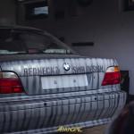 BMW E38 2.8 V6 tunning feat Molotow Premium