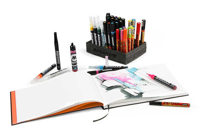 Skicáky, blackbooky, sketchpady MOLOTOW