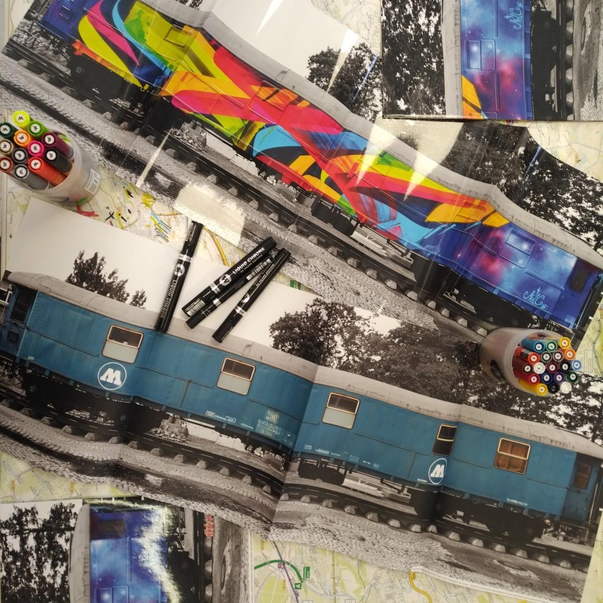 MAD C megaposter Molotow Train je zpátky