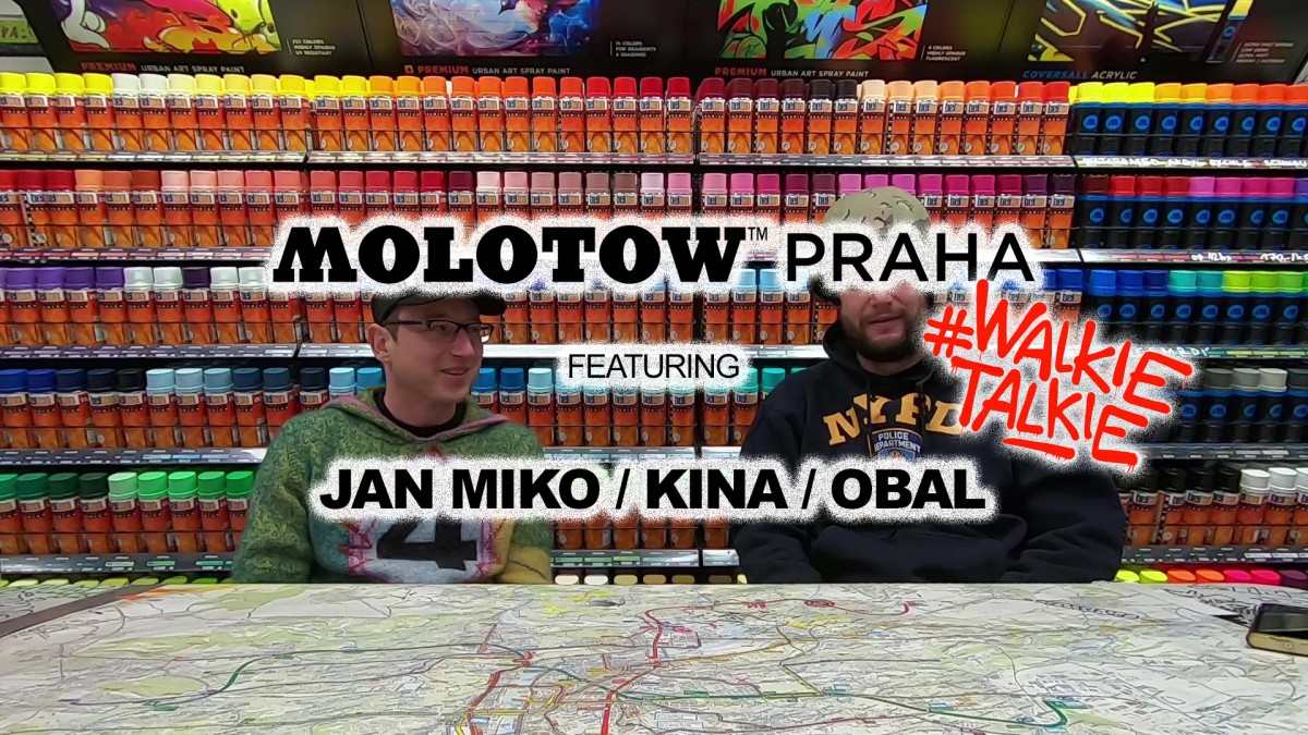 MOLOTOW™ PRAHA x JAN MIKO – KINA (TMC) WT#05