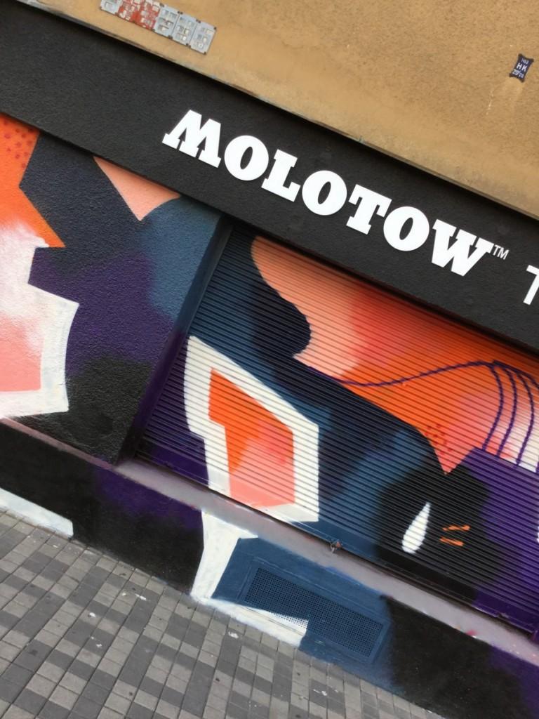 Molotow Praha x POIS 811 - letter R