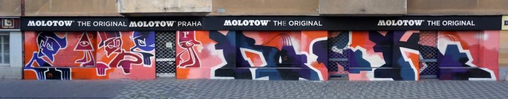 Molotow Praha x POIS 811 celek - Plynární 33