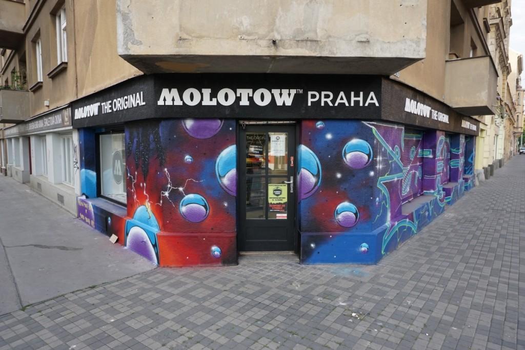 Molotow Praha Yudoe 06 fasada